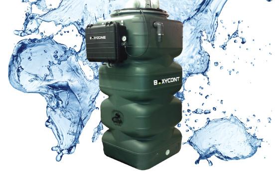 BoxyCont vedenpuhdistusjärjestelmä teollisuudelle