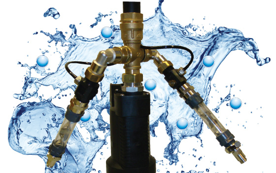 vedenpuhdistusjärjestelmä altaaseen tai säiliöön